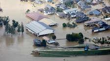 20 fotos del potente tifón Hagibis que golpea Japón y deja más de 50 muertos