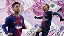 Lionel Messi y Neymar en el once más caro de los jugadores sudamericanos