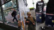 Militares, destrozos y descontento: Así amaneció Santiago de Chile tras violentas protestas [FOTOS]