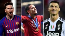 ¡Con Messi, Cristiano Ronaldo y Van Dijk! Los 30 candidatos al Balón de Oro 2019 de 'France Football'
