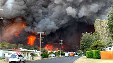 10 fotos de los impresionantes incendios forestales que arrasan 575.000 hectáreas en Australia
