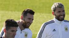10 fotos de la vuelta de Lionel Messi a los entrenamientos de la Selección de Argentina