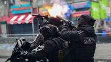 Violentos enfrentamientos entre policías y seguidores de Evo Morales se registran en La Paz [FOTOS]