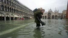 Venecia sufre su peor inundación desde 1966 [FOTOS]