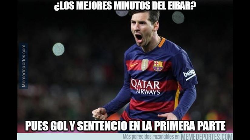 Barcelona Vs Eibar Lionel Messi Protagonizo Los Mejores Memes Rpp Noticias
