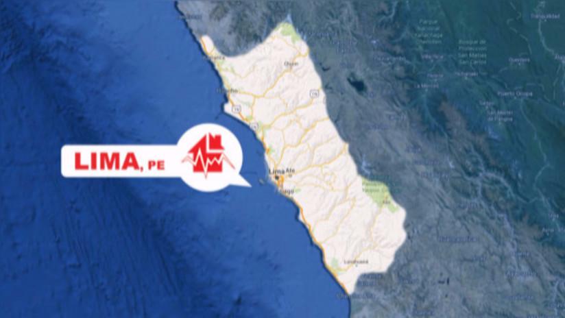 Sismo de regular intensidad se sintió esta noche en Lima
