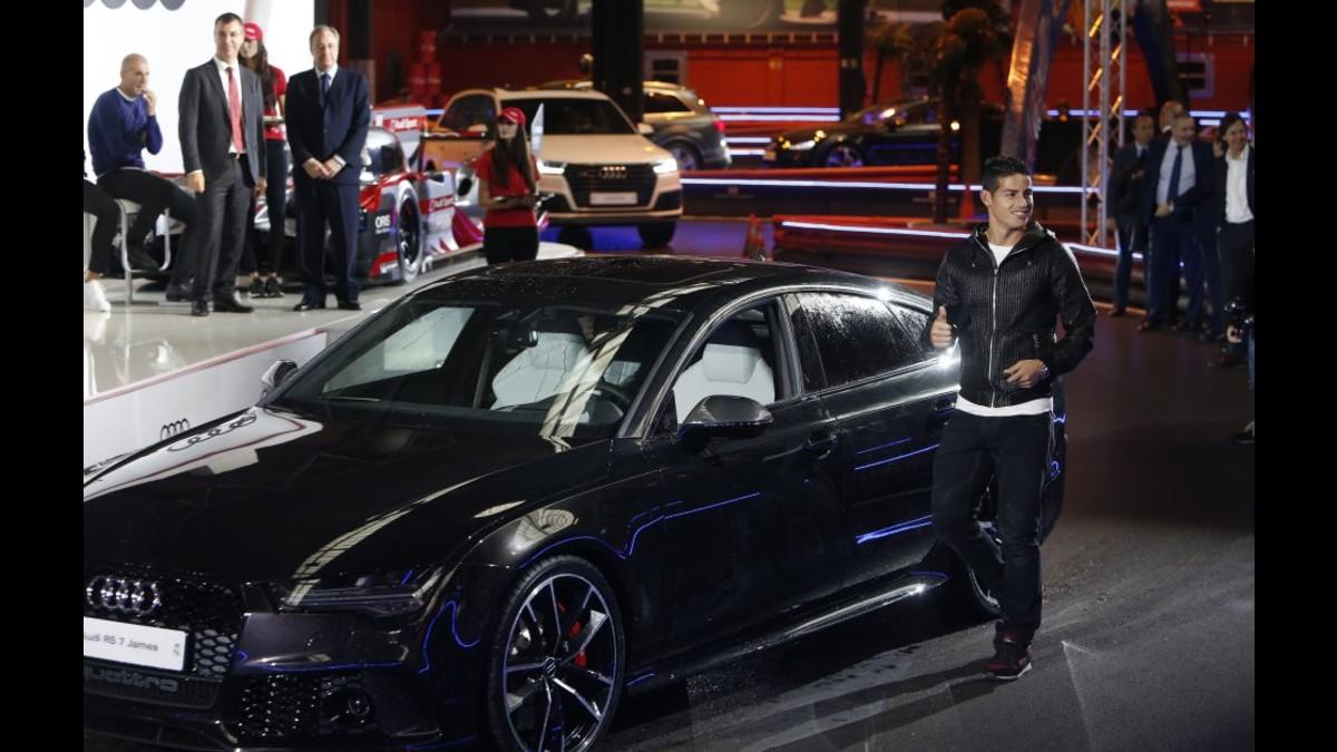 Cristiano Ronaldo y la plantilla del Real Madrid recibió lujosos autos