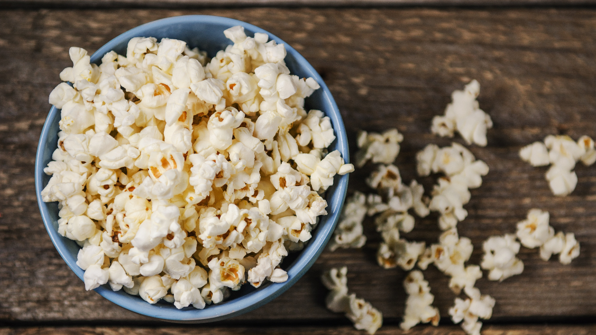 El pop corn y otros alimentos que no son tan saludables como pensamos