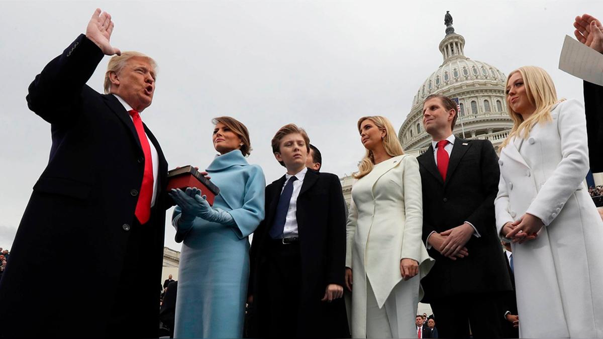 Los hechos que marcaron los primeros 100 días de Donald Trump como presidente