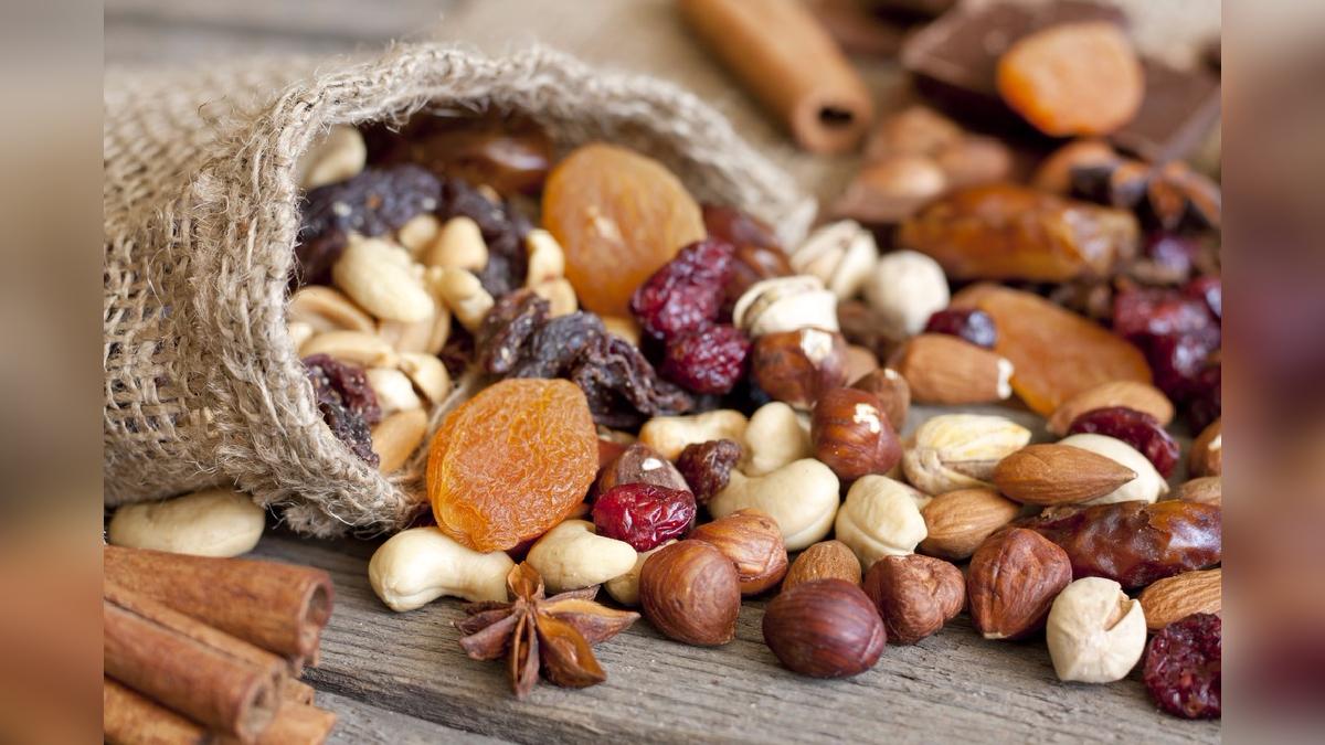 Cuantas calorias tiene el mix de frutas secas
