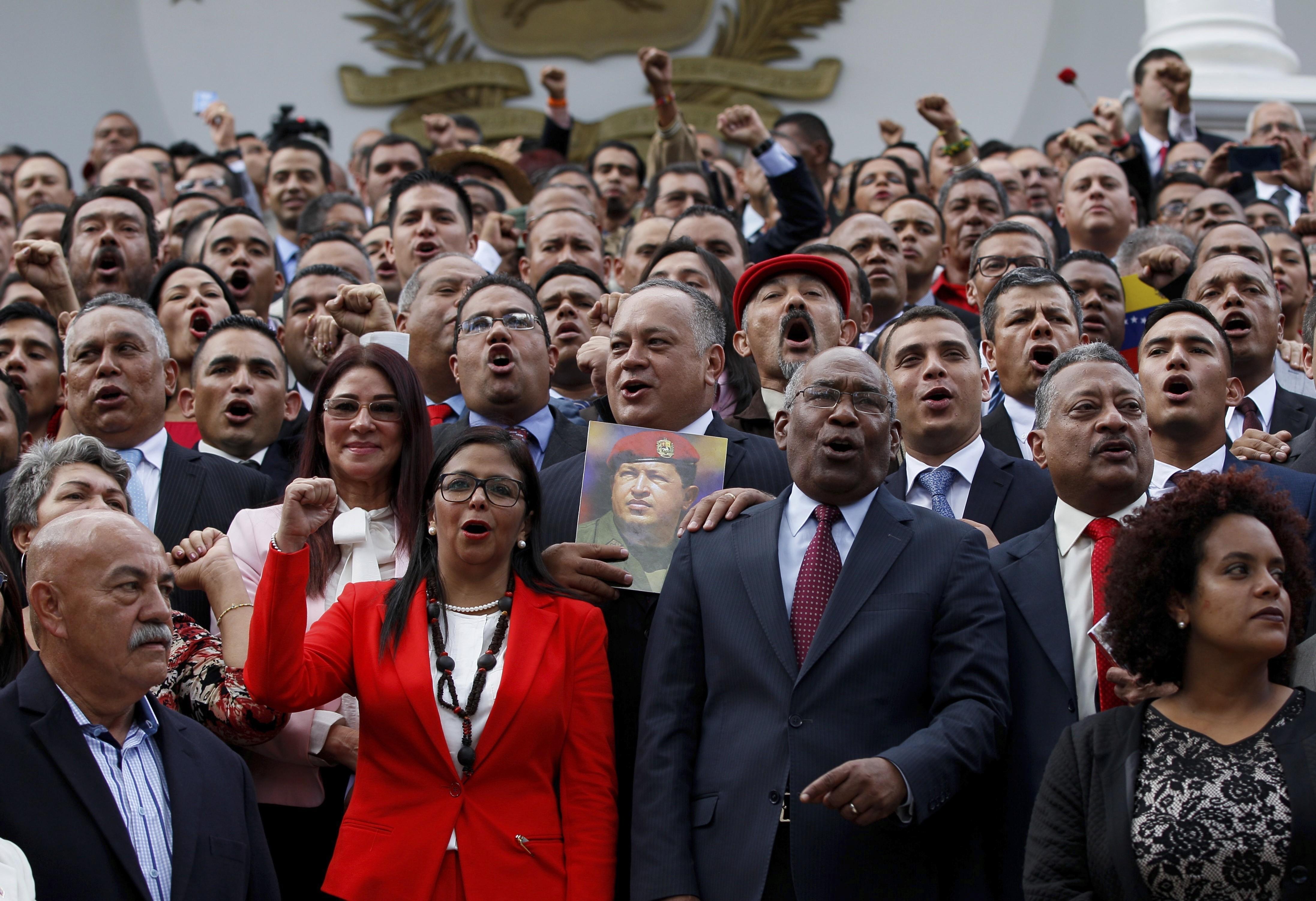 La Asamblea Constituyente disolvió el Parlamento de Venezuela por decreto