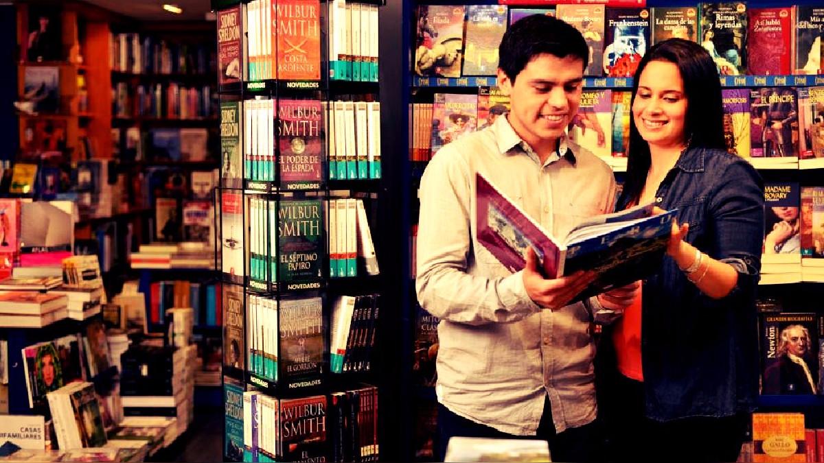 En total estarán a la venta más de 100 mil libros.