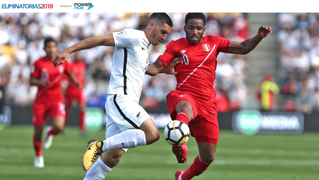 En Vivo   Perú empata 0-0 contra Nueva Zelanda en el Westpac Stadium