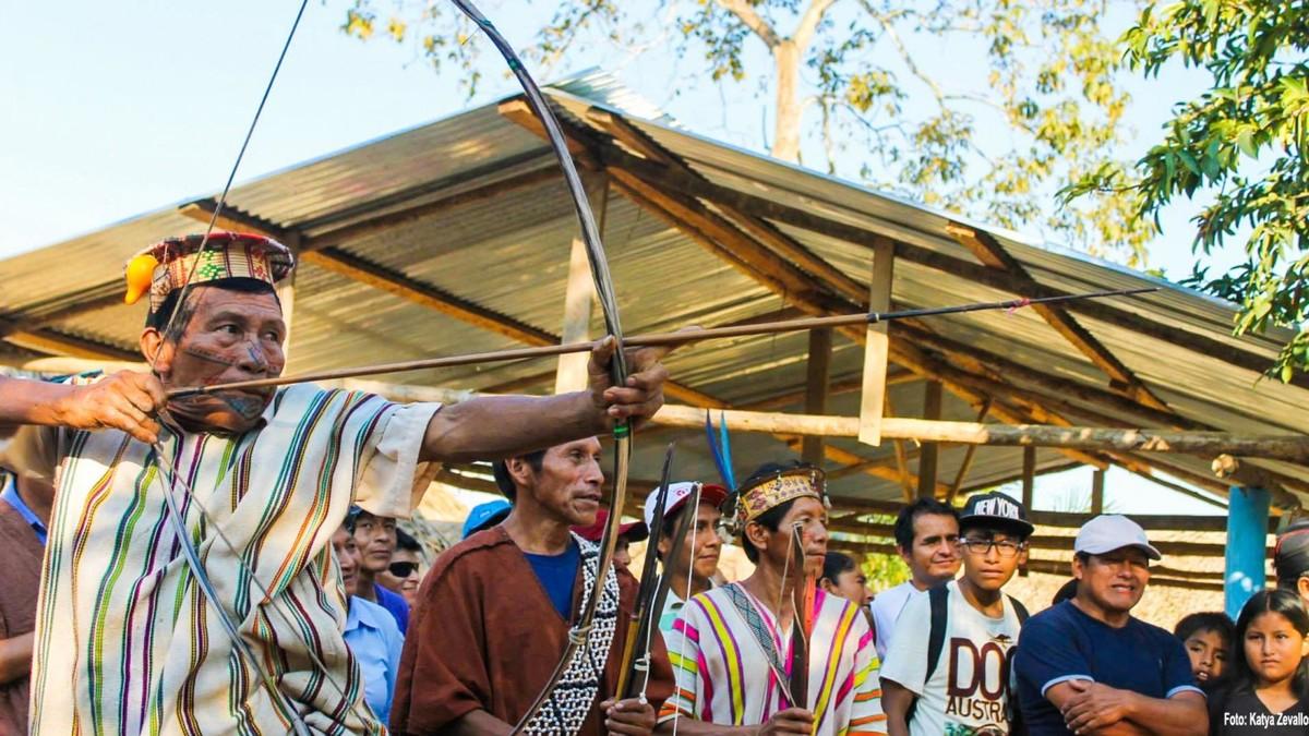 Los asháninkas, guerreros ancestrales, organizaron la resistencia para enfrentar a Sendero Luminoso y rescatar a los miembros de su comunidad que el grupo terrorista secuestraba.  | Fuente: Aidesep - Katya Zevallos