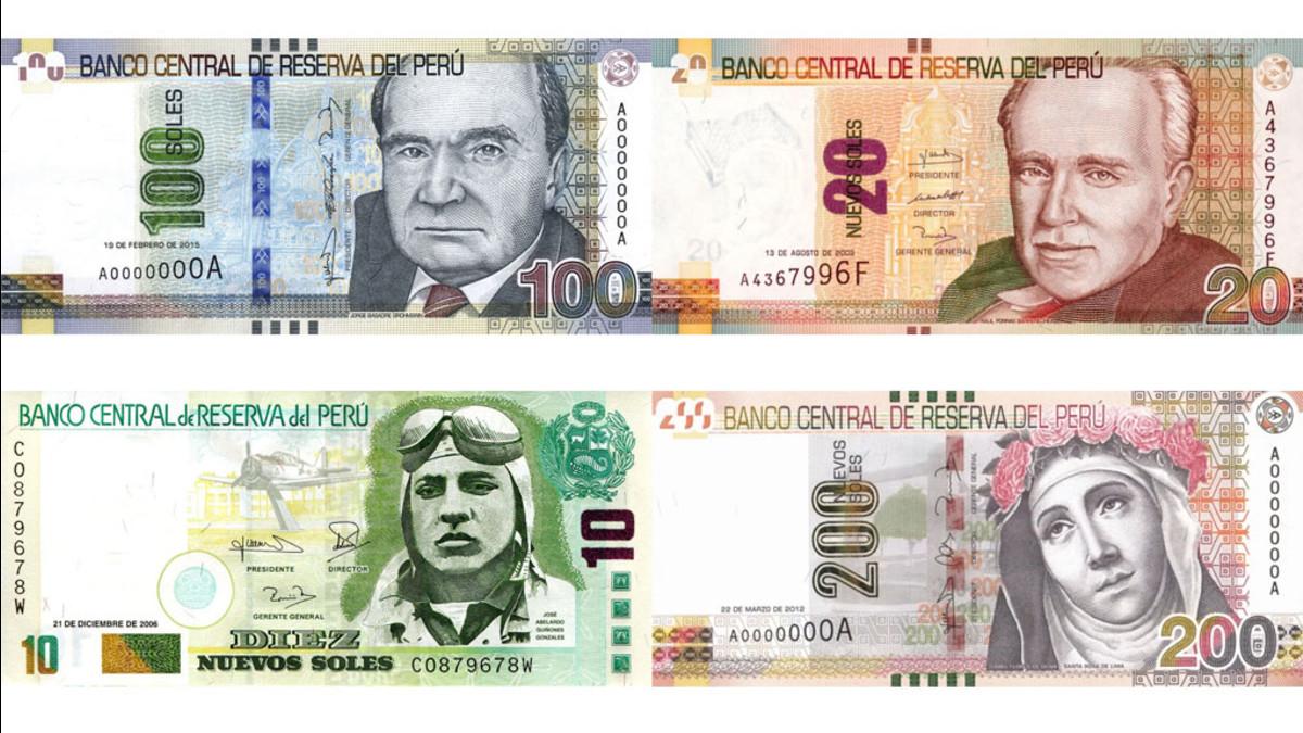 Resultat d'imatges de billetes perú