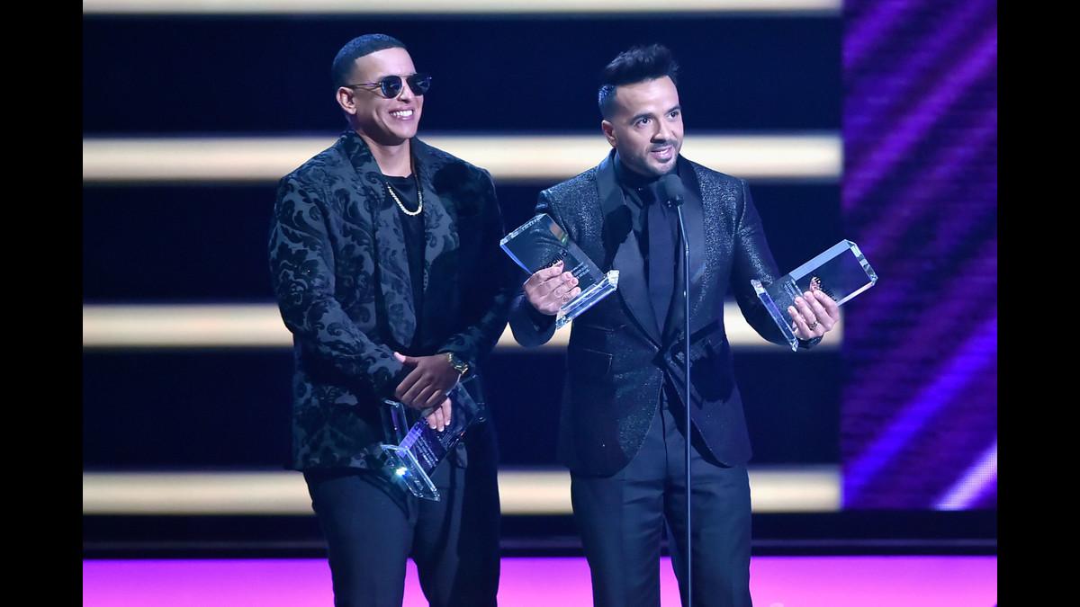 Daddy Yankee y Luis Fonsi fueron los grandes ganadores de la noche de los Billboard Latino.