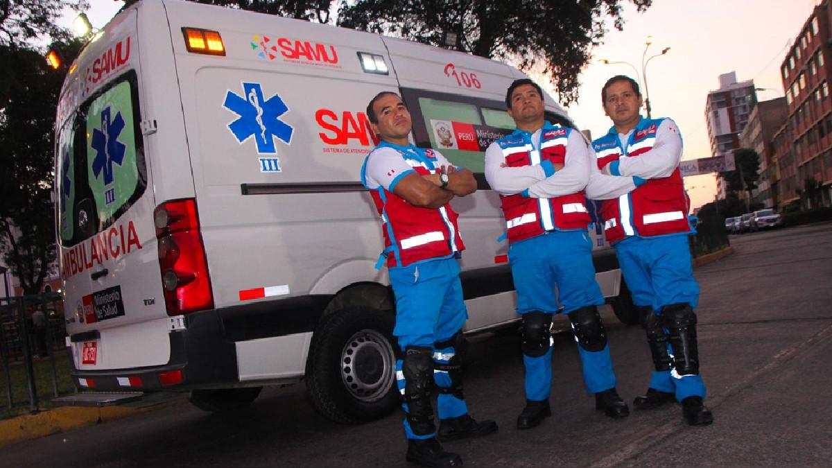 Un día con el SAMU: El tráfico de Lima es el principal problema ante una emergencia