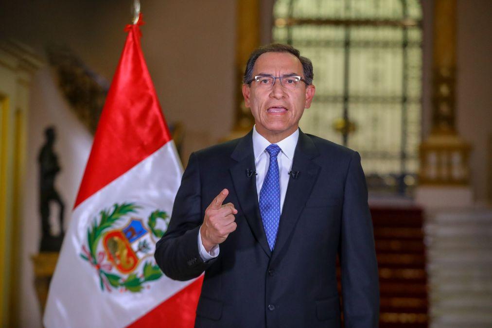 El presidente Martín Vizcarra planteó una cuestión de confianza ante el Congreso