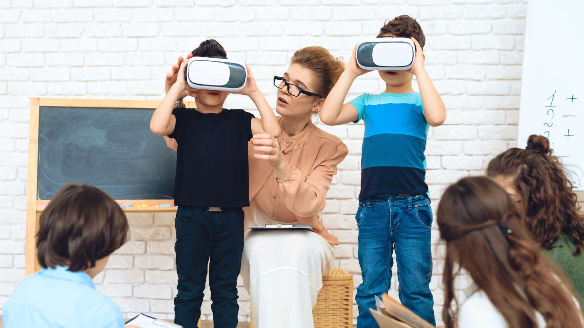 la realidad virtual en la educación