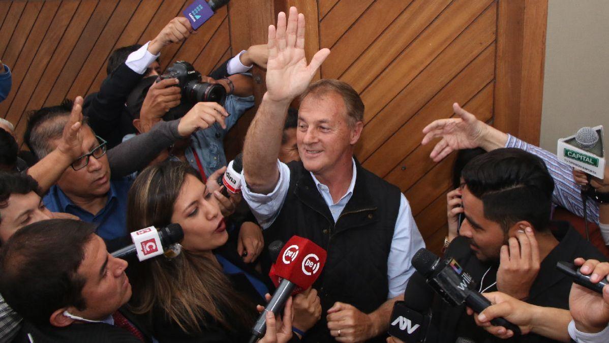 Jorge Muñoz es el virtual nuevo alcalde de Lima