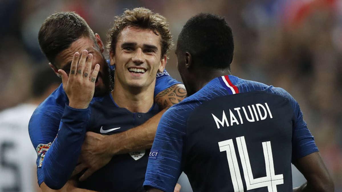 Griezmann anotó los goles de Francia ante Alemania. | Fuente: EFE