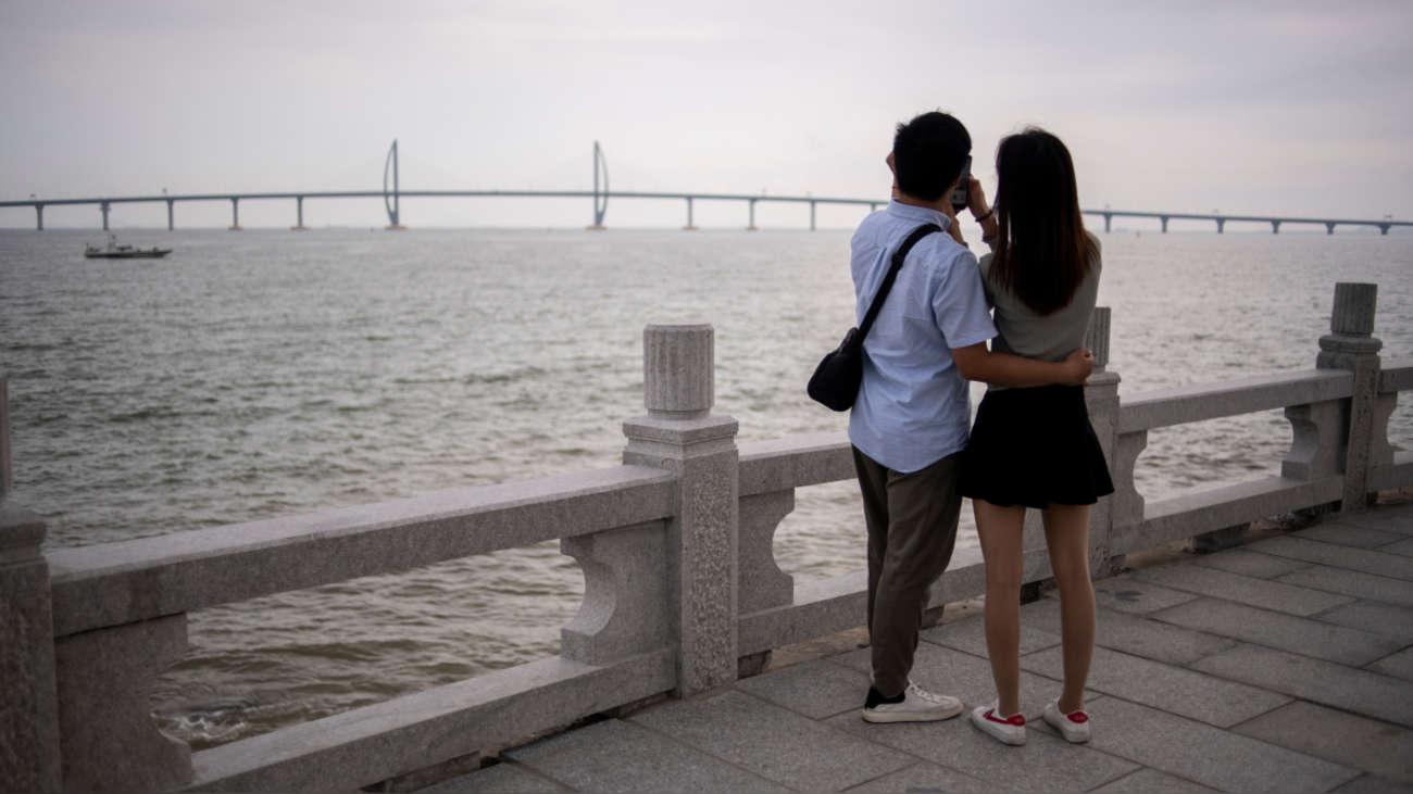 Resultado de imagen para puente maritimo china