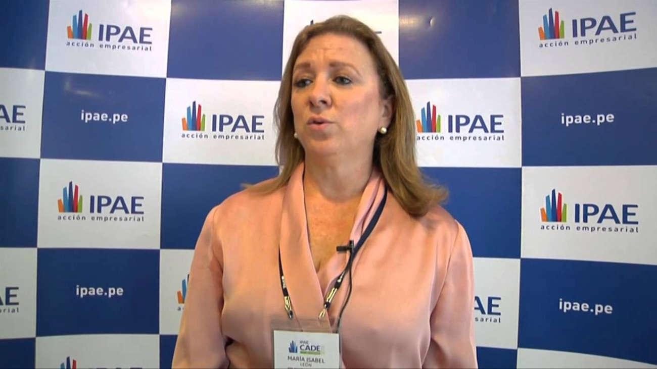 María Isabel León Klenke es la primera mujer presidenta de la Confiep