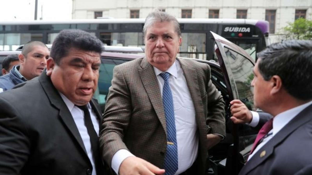 Alan García fue detenido tras orden judicial