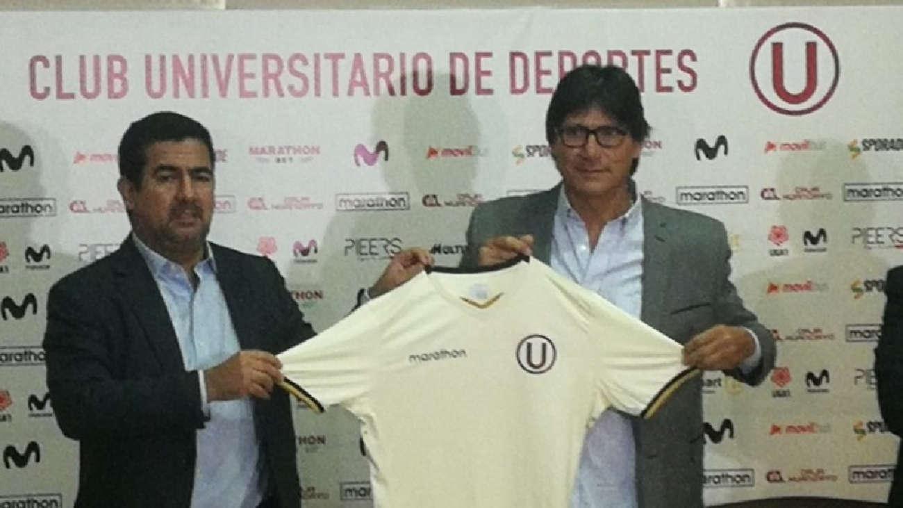 Ángel Comizzo es presentado en Universitario de Deportes: