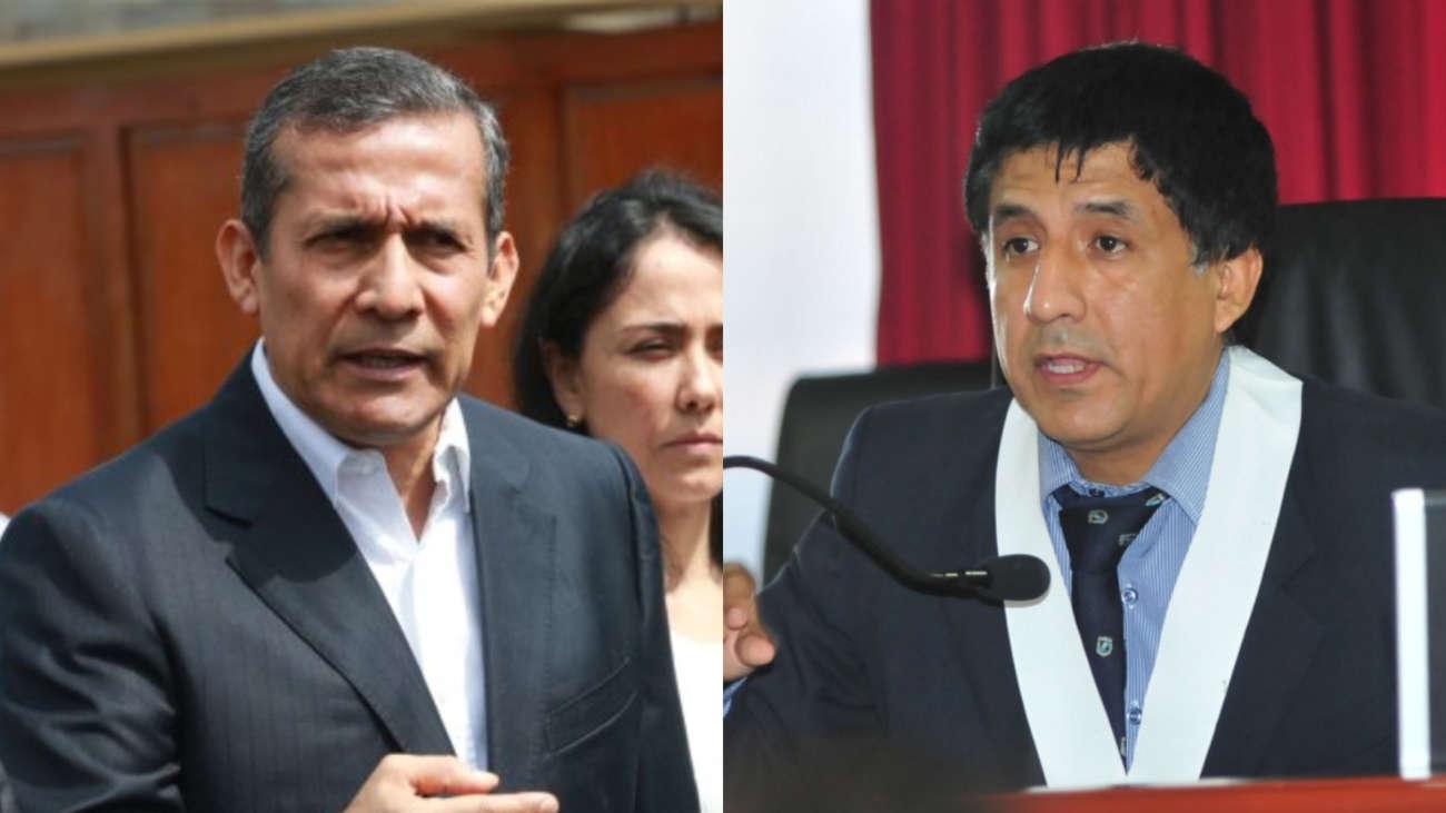 Defensa legal de Ollanta Humala y Nadine Heredia presentan recusación contra juez Concepción Carhuancho