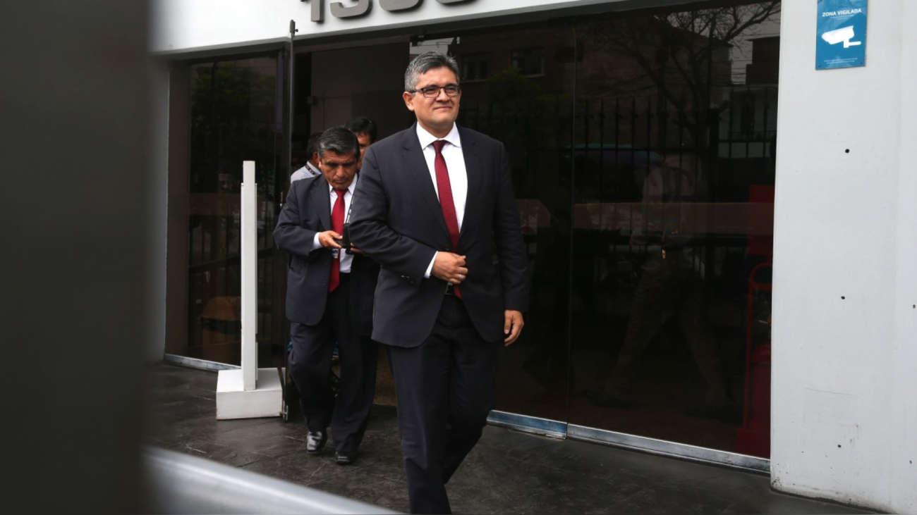 José Domingo Pérez: No imaginamos que el TC tome una decisión distinta a la de tres instancias jurisdiccionales
