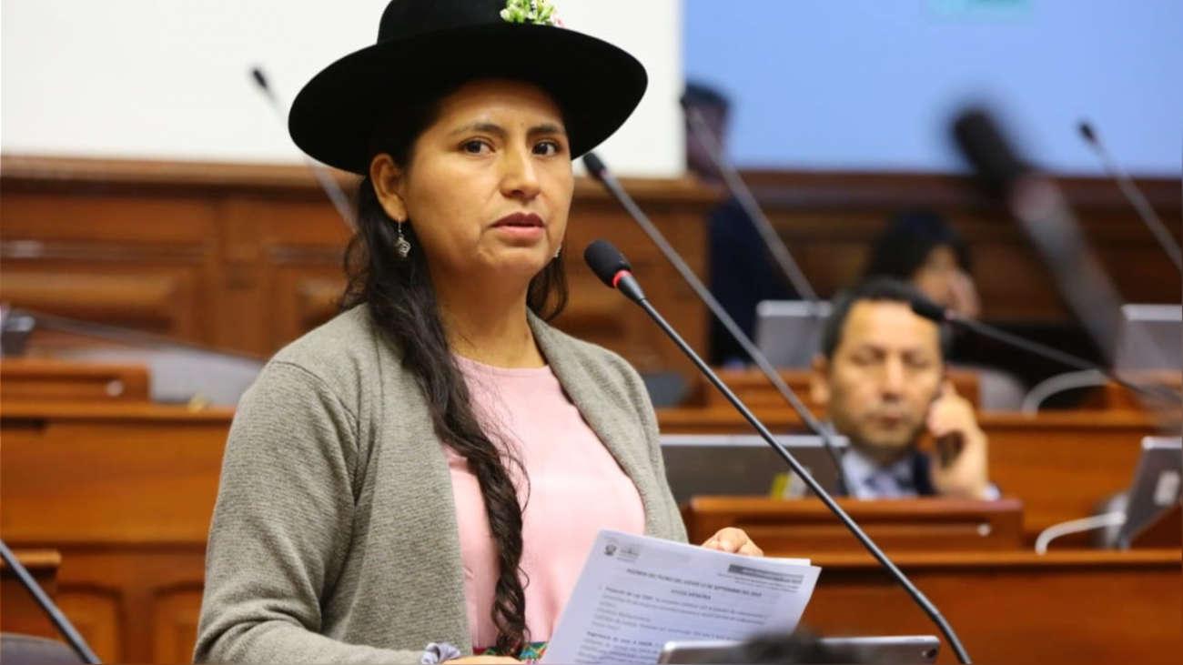 Otra baja más: Tania Pariona renunció a Nuevo Perú tras alianza con Perú Libre