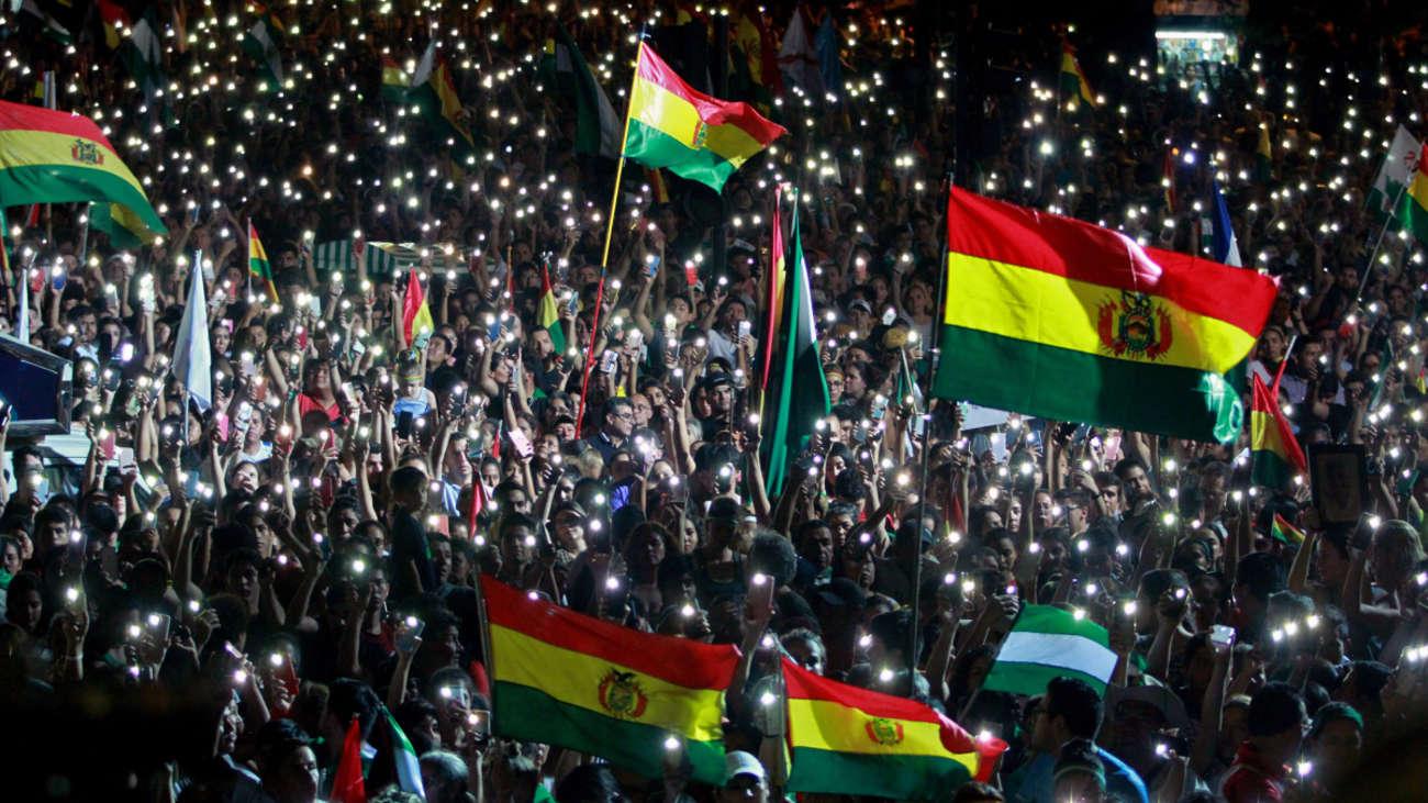 Líderes de grupos cívicos bolivianos dan 48 horas a Evo Morales para que renuncie