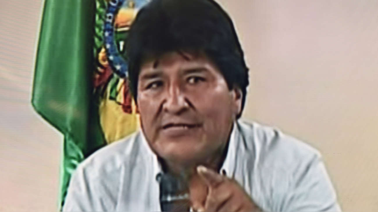 Nuevo mensaje de Evo Morales: