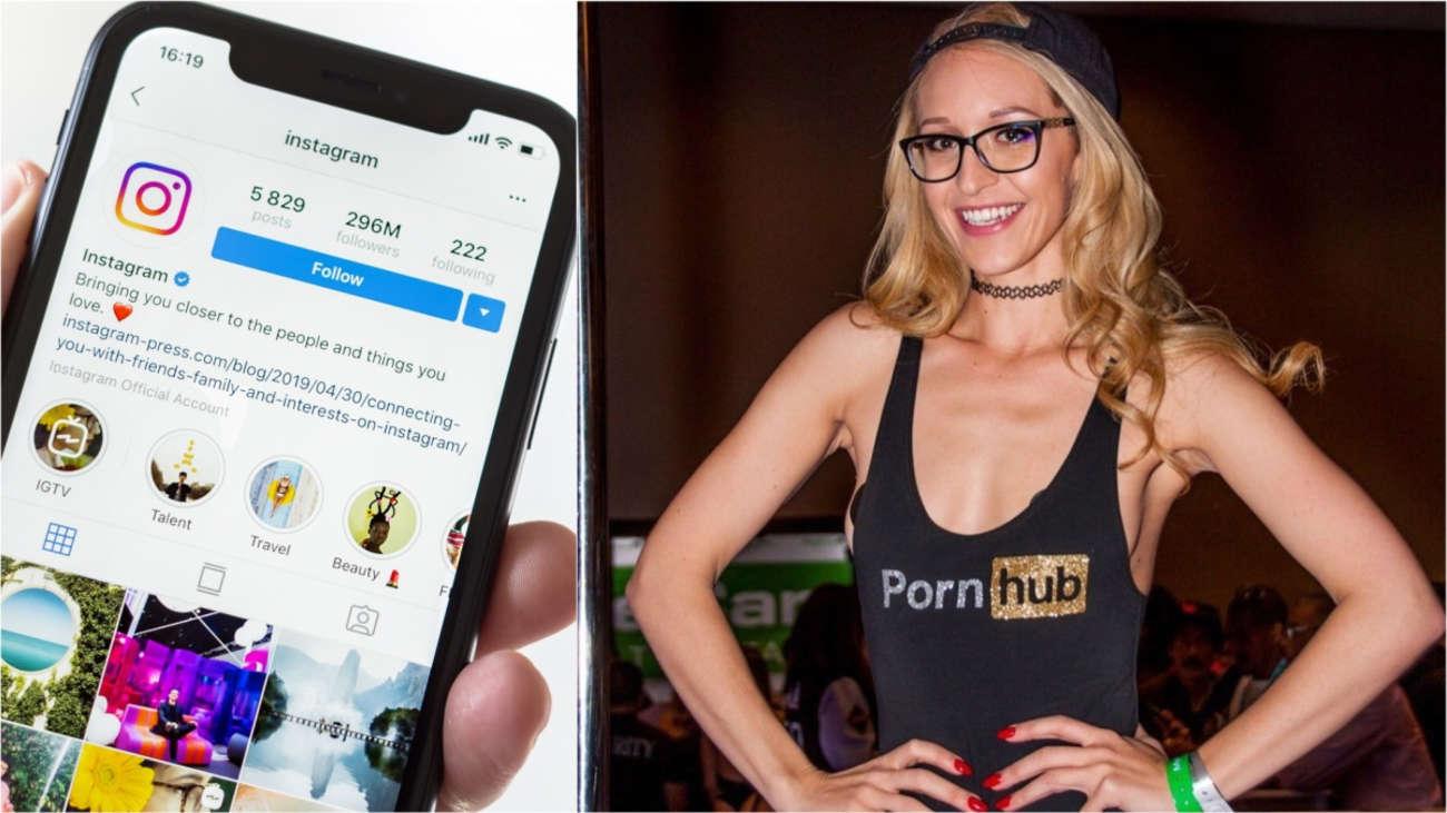 Actriz Porno Callao instagram se enfrenta a las actrices porno: la red social de