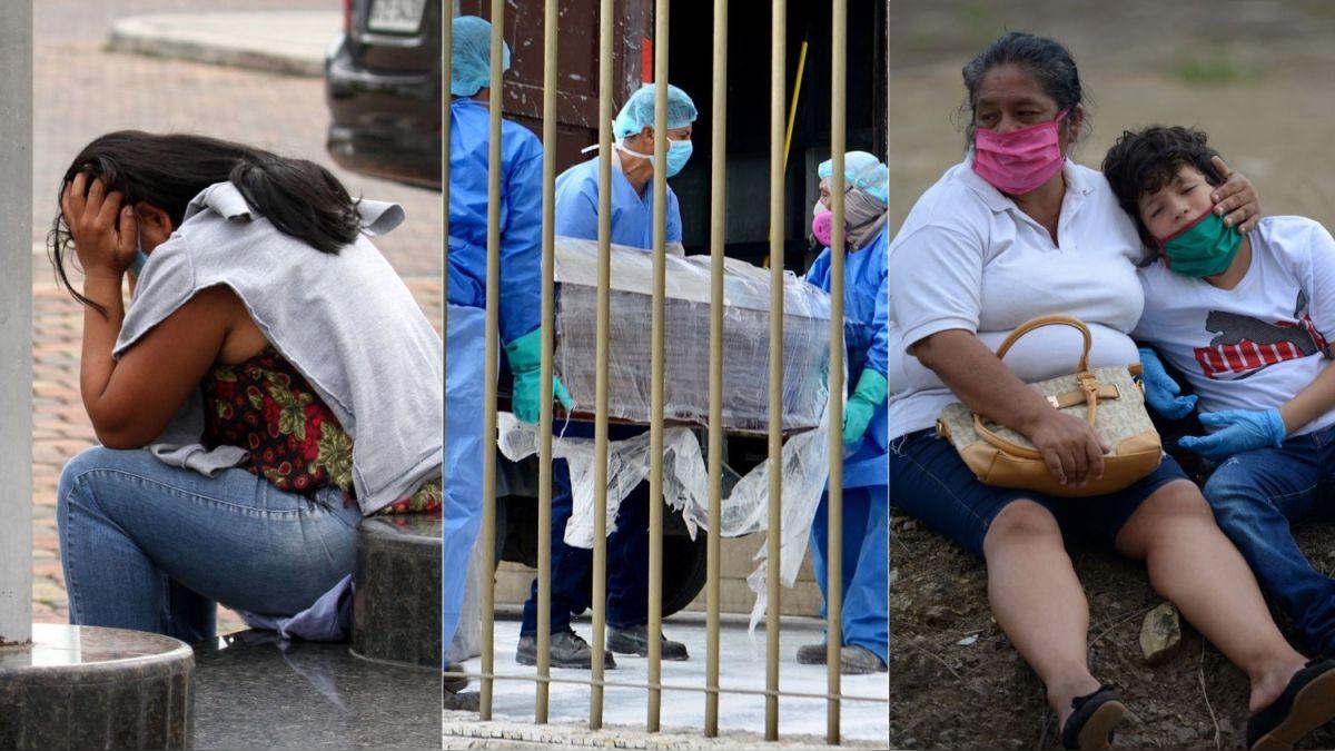 Así es la lucha por un entierro digno en Guayaquil, el foco del coronavirus en Ecuador [FOTOS]