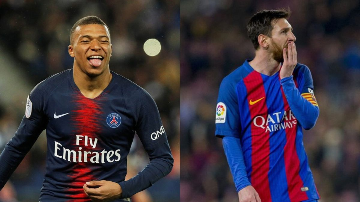 Kylian Mbappé superó en rendimiento a Lionel Messi, según CIES