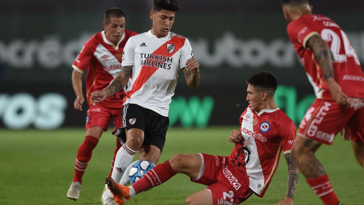 VER GOLES] River Plate 1-1 Argentinos Juniors: resultados y resumen del  partido por el grupo A de la Fase Campeón de la Copa Diego Maradona | RPP  Noticias