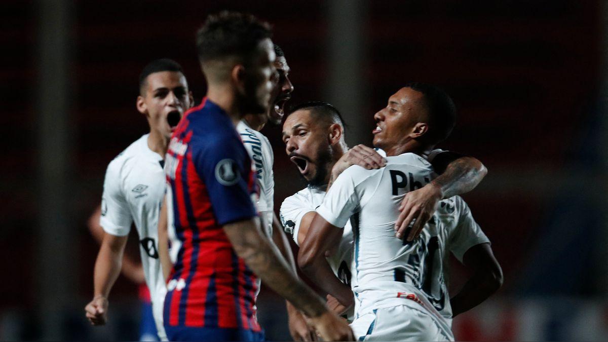 San Lorenzo vs. Santos: ver goles, resumen y video HIGHLIGHTS del 3-1  'Peixe' por ida de Fase 3 de Copa Libertadores 2021 | RPP Noticias